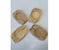 Плашка для опечатывания дверей деревянная