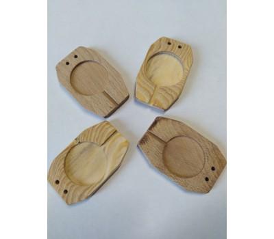 Плашка деревянная под пластилин