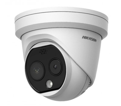 Тепловизионная купольная IP-камера